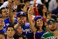 .Cuarto juego de la serie final por el campeonato de la LMP. Yaquis de ciudad Obregon vs Aguilas de Mexicali  en el estadio Tomas Oroz Gaytan. 26 enero 2013 Obregon Sonora..