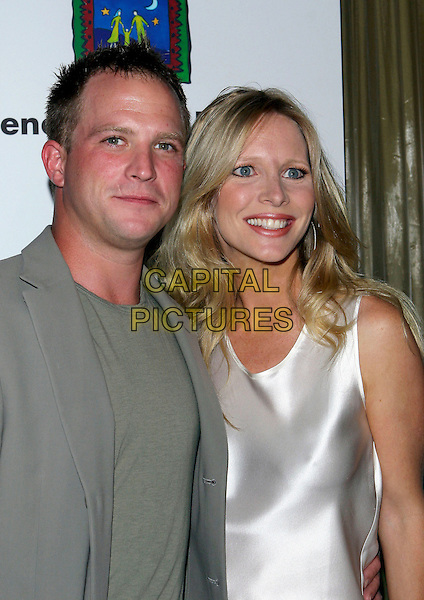 LAURA LEE BELL & HUSBAND.The 9th Annual Family Matters Benefit and Celebration held Regent Beverly Wilshire Hotel, Beverly Hills, California.June 3rd, 2005.Photo credit: Jacqui Wong/AdMedia.headshot portait married wife.www.capitalpictures.com.sales@capitalpictures.com.© Capital Pictures.