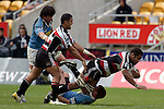 Waka Setitaia goes to ground. Air NZ Cup week 4 game between the Counties Manukau Steelers and Northland played at Mt Smart Stadium on the 19th of August 2006. Northland won 21 - 17.