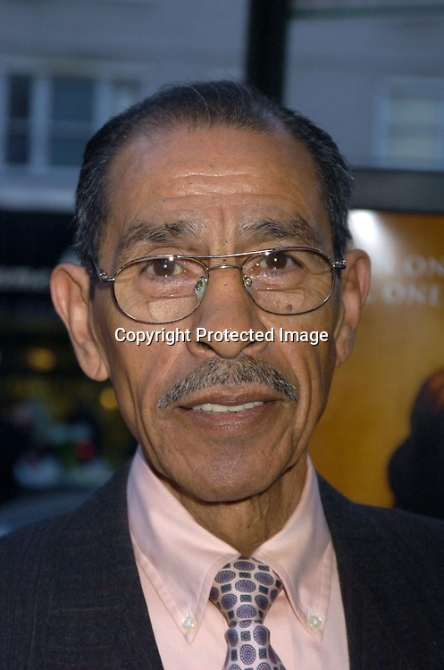 "Gaspar Ortega..at the World Premiere of ""Ring of Fire: The Emile Griffith Story"" at The Beekman Theatre on April 13, 2005 ...The film was directed by Dan Klores and Ron Berger..and will be shown on USA Network on April 20, 2005. ..Photo by Robin Platzer, Twin Images..."