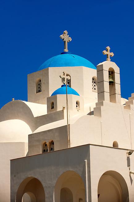 Greek Orthodox Catherdal, Naxos Chora. Greek Cyclades Islands