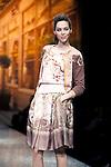 March 29, 2012, Tokyo Japan - A model on the catwalk wearing Yuki Torii's design. Run way of Yuki Torii International.