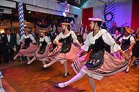 """--- NO TABLOIDS, NO WEB SITE --- Le groupe folklorique La Paladienne participe ‡ la soirÈe d'ouverture de la 11Ëme Èdition de l'Oktoberfest au CafÈ de Paris le 14 octobre 2016. La SociÈtÈ des Bains de Mer cÈlËbre """"Oktoberfest"""" selon la pure tradition bavaroise, en partenariat avec la brasserie Weihenstephan, biËre munichoise. Les dinners se dÈroulent sous le chapiteau installÈ et†dÈcorÈ pour loccasion du 14 au 23 octobre 2016."""