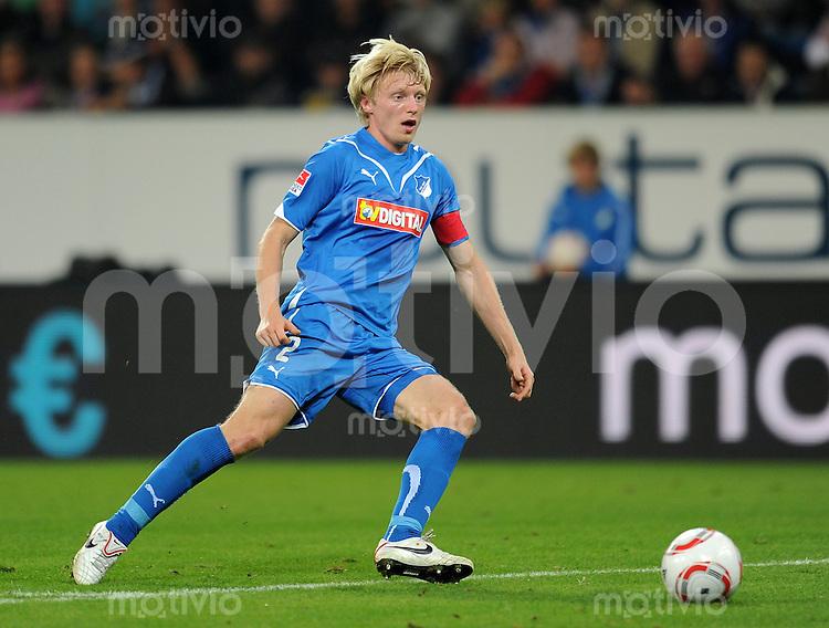 Fussball 1. Bundesliga :  Saison   2010/2011   5. Spieltag  21.09.2010 1899 TSG Hoffenheim - FC Bayern Muenchen Andreas Beck (TSG 1899 Hoffenheim)