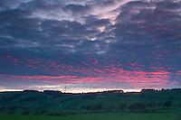 Sunset over Neilston, East Renfrewshire