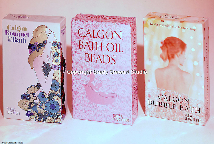 Client: Calgon Corporation<br /> Ad Agency: Calgon Marketing<br /> Contact:  Mr. Flanagan<br /> Product: Calgon Bath Products<br /> Location: Brady Stewart Studio, 211 Empire Building on Liberty Avenue in Pittsburgh.<br /> <br /> Founded in 1933 in Pittsburgh, Calgon grew into a Fortune 500 company during the 1950s.  The Bath and Beauty Division grew steadily during the 1960s and eventually was acquired by Merck in 1968.