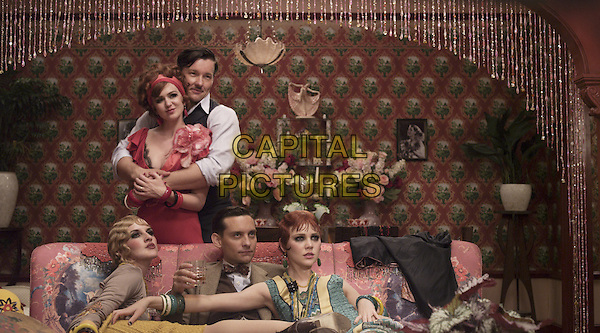 ISLA FISHER, JOEL EDGERTON, ADELAIDE CLEMENS, TOBEY MAGUIRE &amp; KATE MULVANY<br /> in The Great Gatsby (2013) <br /> *Filmstill - Editorial Use Only*<br /> CAP/FB<br /> Supplied by Capital Pictures