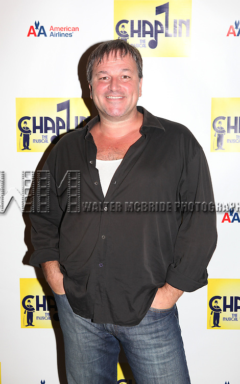 Jim Borstelmann.attends the Meet & Greet the cast of the New Broadway Show 'Chaplin The Musical'  at Foxwoods Theater Rehearsal Studios on August 7, 2012 in New York City.