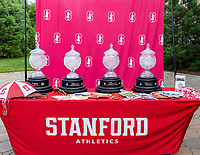 Stanford, California - June 17, 2018: Stanford Athletic Department Senior Athletes' Breakfast at Jimmy V's Sports Café in Stanford, California.