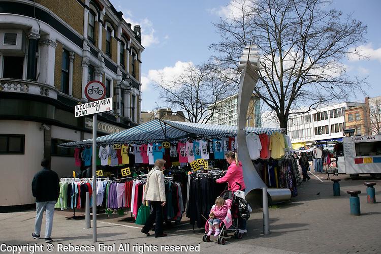 Woolwich Market, Woolwich, southeast London, UK