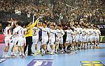 10.01.2019, Mercedes Benz Arena, Berlin, GER, Handball WM 2019, Deutschland vs. Korea, im Bild <br /> Koreanische Mannschaft<br /> <br />      <br /> Foto © nordphoto / Engler