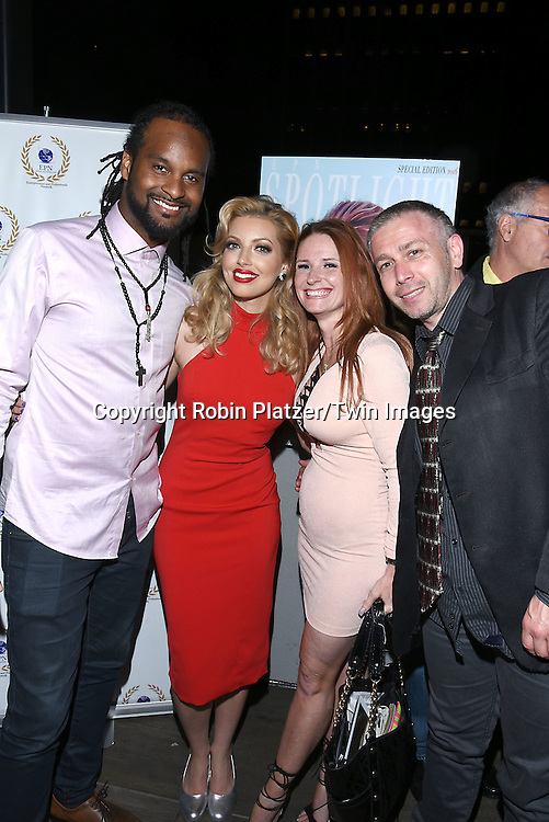 Noble Jolley, Dalal Bruchmann, April Malloy and Recording Artist,Composer and Actress attends the &quot;EPN Spotlight Magazine&quot;  launch party on June 10, 2016 at the Renaissance NY Hotel in New York, New York, USA. Dalal Bruchmann is the cover model.<br /> <br /> photo by Robin Platzer/Twin Images<br />  <br /> phone number 212-935-0770