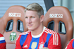 06 August 2014: Bayern Munich's Bastian Schweinsteiger (GER). The Major League Soccer All-Stars played Bayern Munich of the German Bundesliga at Providence Park in Portland, Oregon in the 2014 MLS All-Star Game. The MLS All-Stars won the game 2-1.