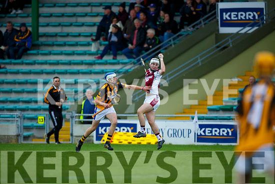Keane's Super Valu Minor Hurling Championship semi-finals: Causeway vs Abbeydorney / Tralee Parnells at Austin Stack Park on Saturday. Pictured Abbeydorney Parnell's Tadhg Brick, Causeway's Gary Carey