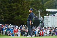 Byeong Hun An (KOR) reacts to barely missing his putt on 3 during round 4 of the 2019 US Open, Pebble Beach Golf Links, Monterrey, California, USA. 6/16/2019.<br /> Picture: Golffile | Ken Murray<br /> <br /> All photo usage must carry mandatory copyright credit (© Golffile | Ken Murray)
