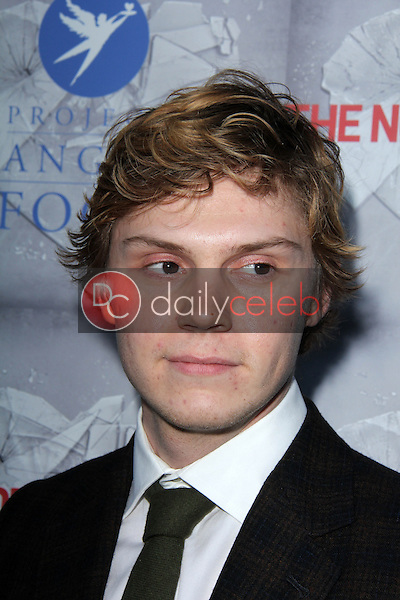 Evan Peters<br />