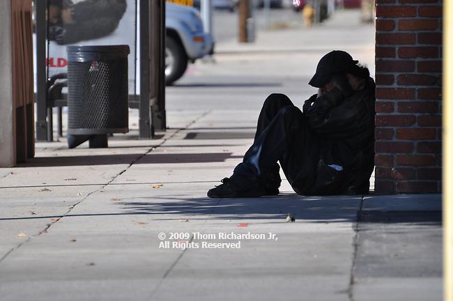 Halloween Festival - West Hollywood, CA Homeless Man - Van Nuys California
