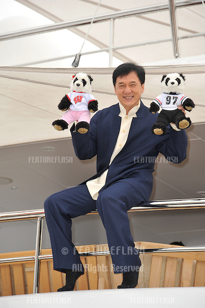 "Jackie Chan at photocall at the 66th Festival de Cannes for his new movie ""Skiptrace""..May 16, 2013  Cannes, France.Picture: Paul Smith / Featureflash"