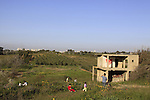 Israel, Southern Coastal Plain, a picnic on Humra Hill