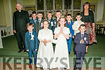 Ballydonoghue 1st Communions : M/s Kerry Bambury class from Coolard  NS who received their 1st communion from Fr. John Lawlor at Ballydonoghue Church on Saturday last.