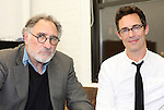 Judd Hirsch & Tom Cavanagh in rehearsal for 'Freud's Last Session'. Judd Hirsch as Sigmund Freud and Tom Cavanagh as C. S. Lewis under the direction of Tyler Marchant at the Davenport Studios in New York City on December 17, 2012