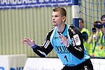 BHCs Rudeck, Christopher (Nr.01)  im Spiel der Handballliga, Bergischer HC - SC DHFK Leipzig.<br /> <br /> Foto &copy; PIX-Sportfotos *** Foto ist honorarpflichtig! *** Auf Anfrage in hoeherer Qualitaet/Aufloesung. Belegexemplar erbeten. Veroeffentlichung ausschliesslich fuer journalistisch-publizistische Zwecke. For editorial use only.