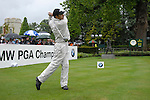 Jeev Milkha Singh tees off on the opening hole during the final round of the BMW PGA Championship at Wentworth Club, Surrey, England 27th May 2007 (Photo by Eoin Clarke/NEWSFILE)