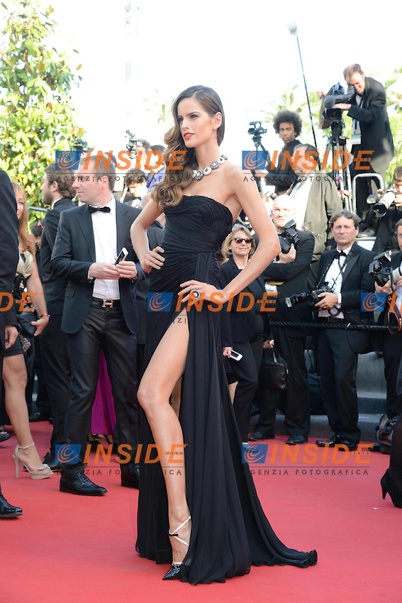 Izabel Goulart .Cannes 24/5/2013 .Festival del Cinema di Cannes .Foto Panoramic / Insidefoto .ITALY ONLY