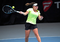 Holly Stewart. 2017 Wellington Open tennis championship finals at Renouf Tennis Centre in Wellington, New Zealand on Friday, 22 December 2017. Photo: Dave Lintott / lintottphoto.co.nz