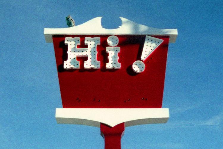 Hi! in Lompoc 2005