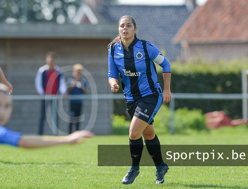 DVK Egem - Club Brugge Dames B :  Amy Roman <br /> Foto David Catry   VDB   Bart Vandenbroucke