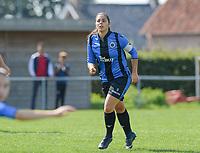 DVK Egem - Club Brugge Dames B :  Amy Roman <br /> Foto David Catry | VDB | Bart Vandenbroucke