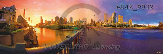 Dr. Xiong, LANDSCAPES, panoramic, photos, Melbourne, Australia(AUJXP032,#L#)