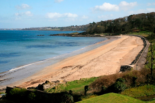 Helens Bay Beach in Bangor received a Green Coast Award
