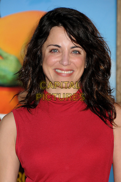 "ALANNA UBACH .""Rango"" Los Angeles Premiere held at the Regency Village Theater, Westwood, California, USA, 14th February 2011..portrait headshot smiling red .CAP/ADM/BP.©Byron Purvis/AdMedia/Capital Pictures."