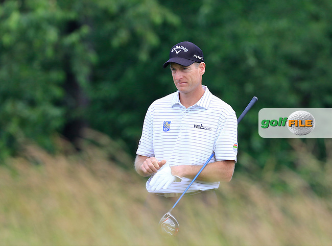 Jim Furyk (USA) on the 4th tee during Friday's Round 1 of the 2016 U.S. Open Championship held at Oakmont Country Club, Oakmont, Pittsburgh, Pennsylvania, United States of America. 17th June 2016.<br /> Picture: Eoin Clarke | Golffile<br /> <br /> <br /> All photos usage must carry mandatory copyright credit (&copy; Golffile | Eoin Clarke)