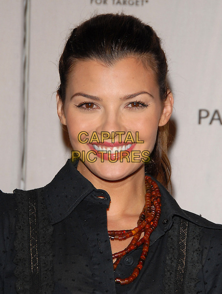 ALI LANDRY.Sophie Albou's Paul & Joe Collection for The Opening of Target Temporary Boutique on Melrose in Beverly Hills, California, USA..July 27th, 2006.Ref: DVS.headshot portrait red beaded necklace.www.capitalpictures.com.sales@capitalpictures.com.©Debbie VanStory/Capital Pictures