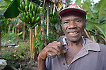 Jean Nitho is a farmer in Despagne, an isolated village in southern Haiti where the Lutheran World Federation has been working with residents to improve their quality of life.