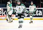 Stockholm 2014-03-27 Ishockey Kvalserien Djurg&aring;rdens IF - R&ouml;gle BK :  <br /> R&ouml;gles Mathias Tj&auml;rnqvist deppar<br /> (Foto: Kenta J&ouml;nsson) Nyckelord:  DIF Djurg&aring;rden R&ouml;gle RBK Hovet depp besviken besvikelse sorg ledsen deppig nedst&auml;md uppgiven sad disappointment disappointed dejected