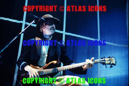 Primus;  Les Claypool; Live, 1995.Photo Credit: Eddie Malluk/Atlas Icons.com
