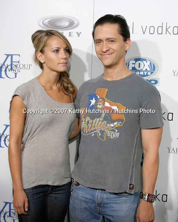 """Clifton Collins Jr & Date.""""Resurrecting The Champ"""" Premiere.Beverly Hills,  CA.Aug 22, 2007.©2007 Kathy Hutchins / Hutchins Photo...."""