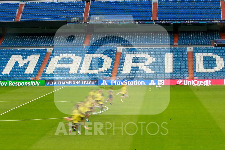 Tottenham Hotspur FC's team during training session. October 16,2017.(ALTERPHOTOS/Acero)