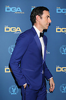 LOS ANGELES - FEB 2:  Sacha Baron Cohen at the 2019 Directors Guild of America Awards at the Dolby Ballroom on February 2, 2019 in Los Angeles, CA