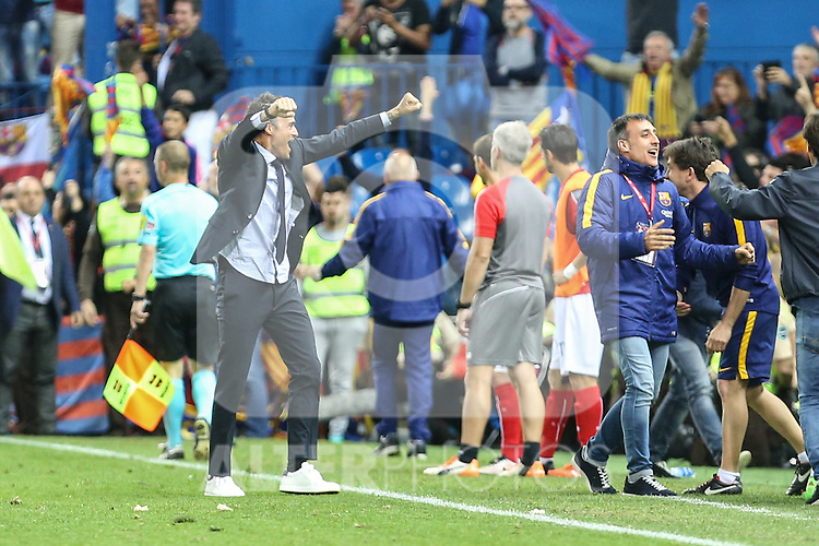 FC Barcelona'sLuis Enrique during Spanish Kings Cup Final match. May 22,2016. (ALTERPHOTOS/Rodrigo Jimenez)