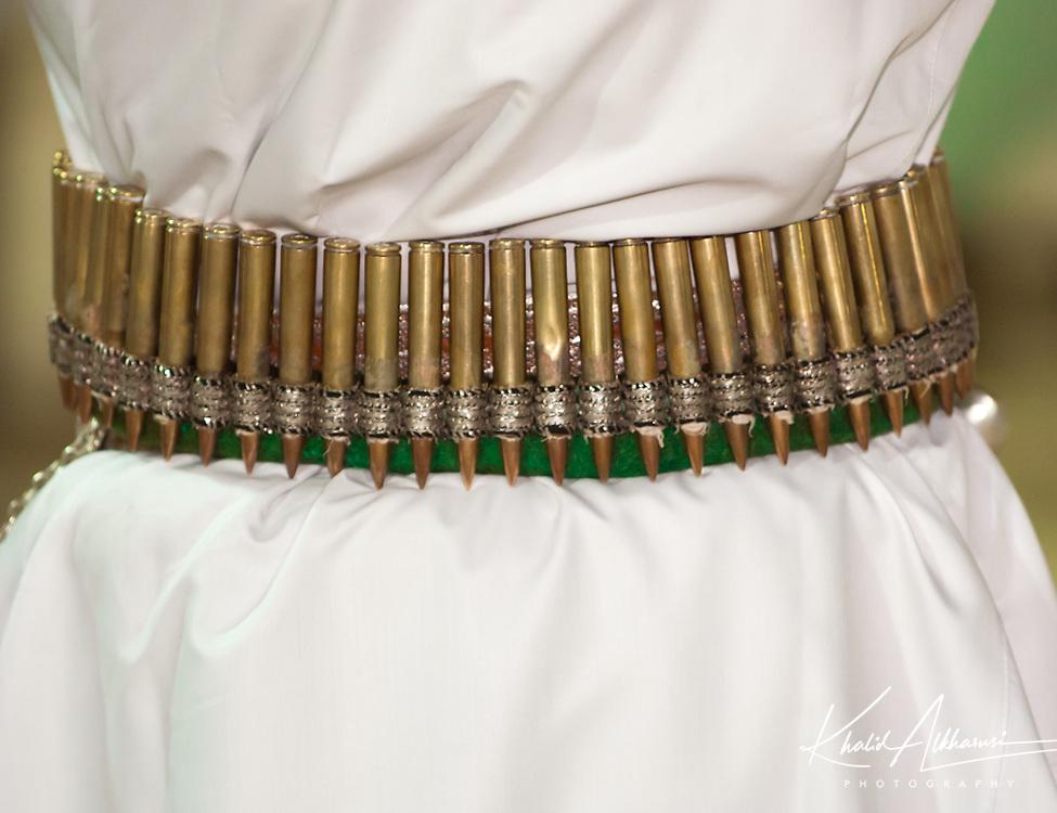 Omani bullet belt wear in special occasions, Oman