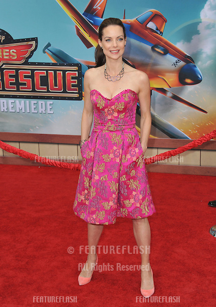 Kimberly Williams-Paisley at the world premiere of Disney's &quot;Planes: Fire &amp; Rescue&quot; at the El Capitan Theatre, Hollywood.<br /> July 15, 2014  Los Angeles, CA<br /> Picture: Paul Smith / Featureflash
