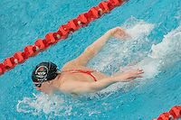 13 MAR 2006 - MELBOURNE, AUSTRALIA - Rebecca Cooke (ENG) swim  training - .Commonwealth Games '06. (PHOTO (C) NIGEL FARROW)