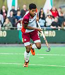 ALMERE - Hockey - Hoofdklasse competitie heren. ALMERE-HGC (0-1) .   Terrance Pieters (Almere)  COPYRIGHT KOEN SUYK