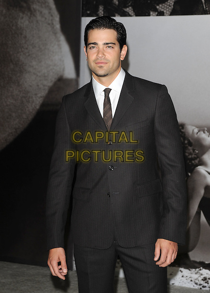 JESSE METCALFE .at the Vanity Fair and Burberry preview of the Vanity Fair Portraits 1913?2008 exhibition at LACMA in Hollywood, California, USA, October 21st 2008.                                                                     .half length black grey gray suit tie jacket .CAP/DVS.©Debbie VanStory/Capital Pictures