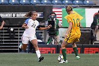 Seattle, WA - Thursday July 27, 2017: Mallory Pugh during a 2017 Tournament of Nations match between the women's national teams of the United States (USA) and Australia (AUS) at CenturyLink Field.